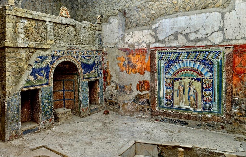 House In Herculaneum, Italy