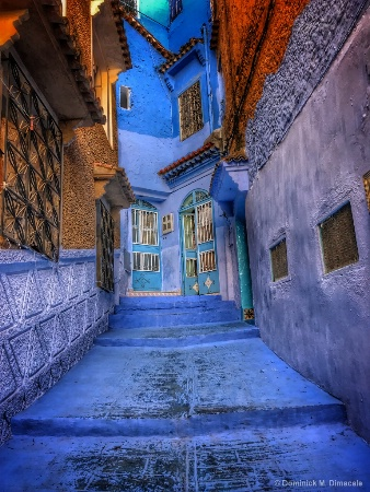~ ~ AN OPEN BLUE DOOR  ~