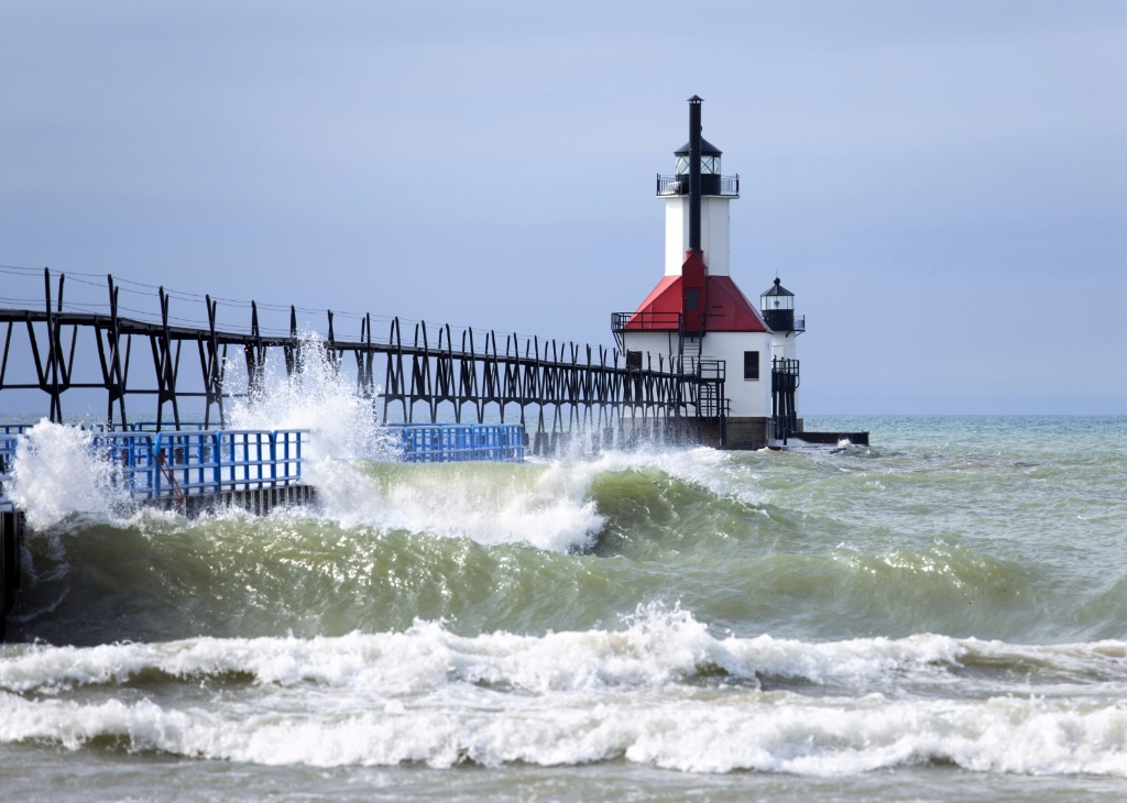St. Joseph Pier and Lighthouse