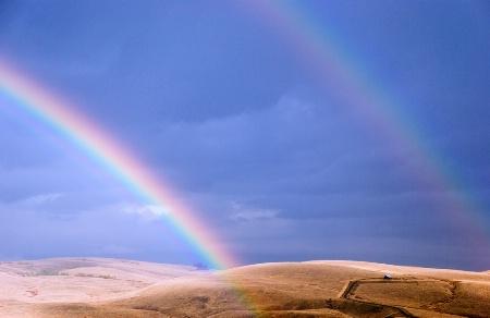 Late Autumn Rainbows