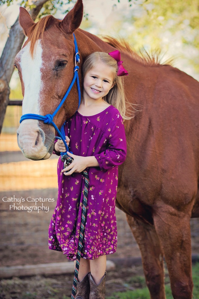 ~Sweet Alex with Her Horse~