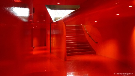 The Red Hall, Seattle Library