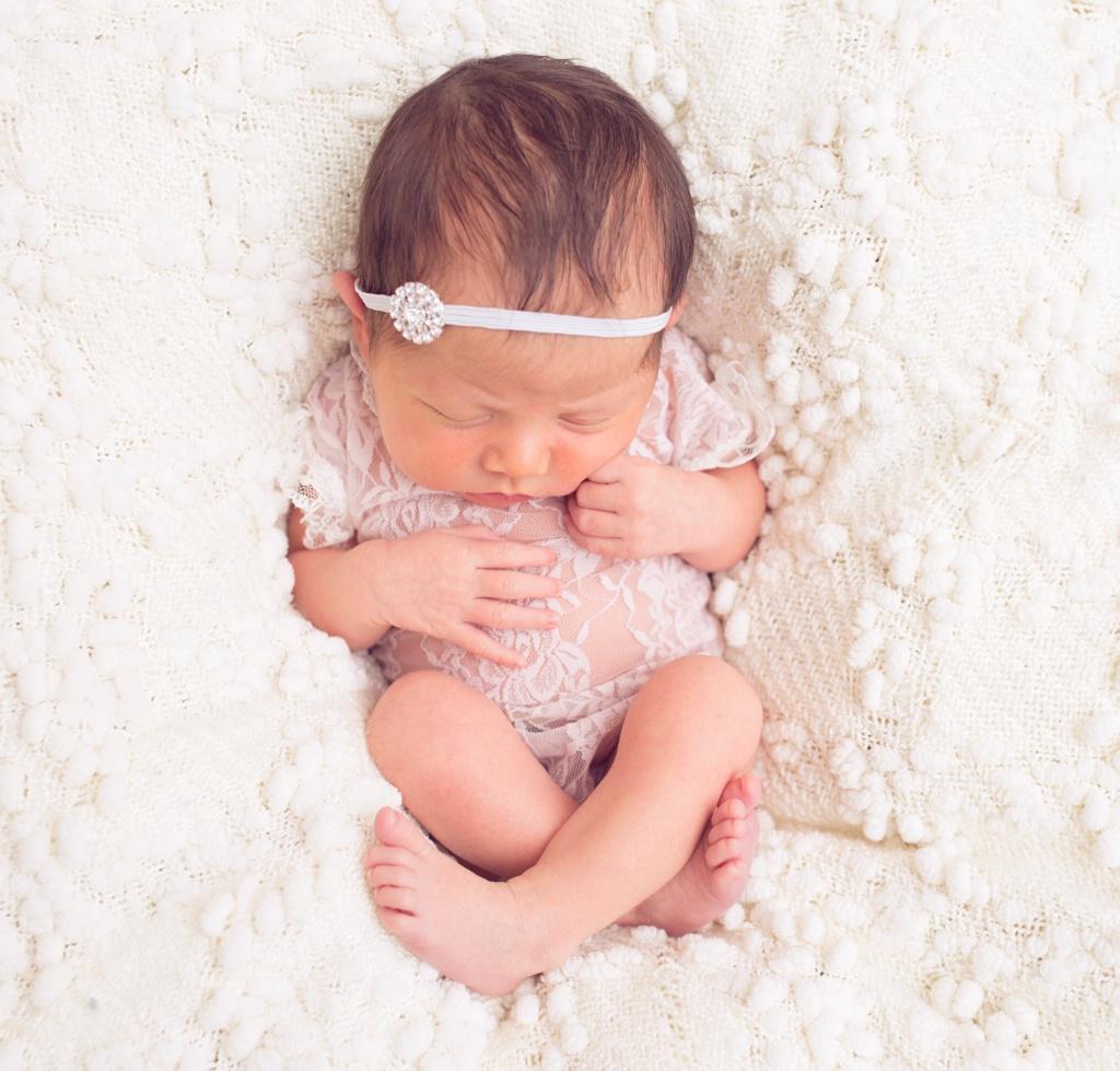 *Newborn baby girl*
