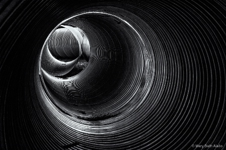From Inside a Storm Drain
