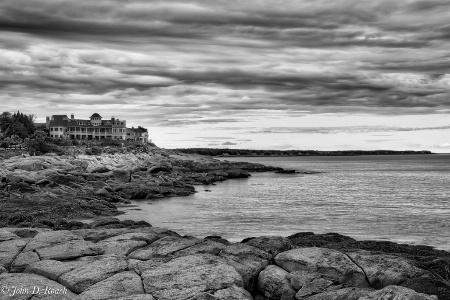 View North Toward Kinnebuckport Maine-2