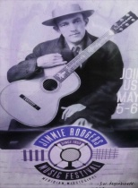 Jimmy Rodgers Music Festival Poster