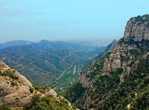 View From The Top At Montserrat