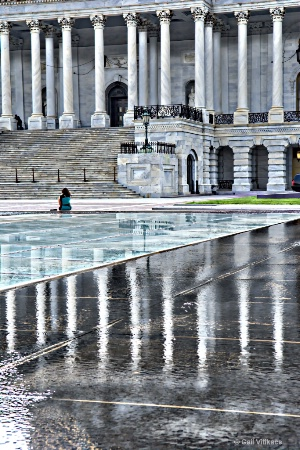 After the Rain at the Capital