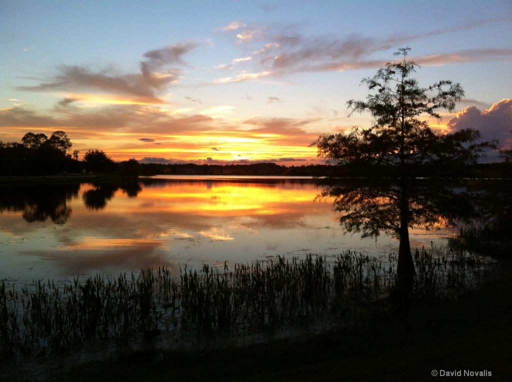 East Lake ParkSunset