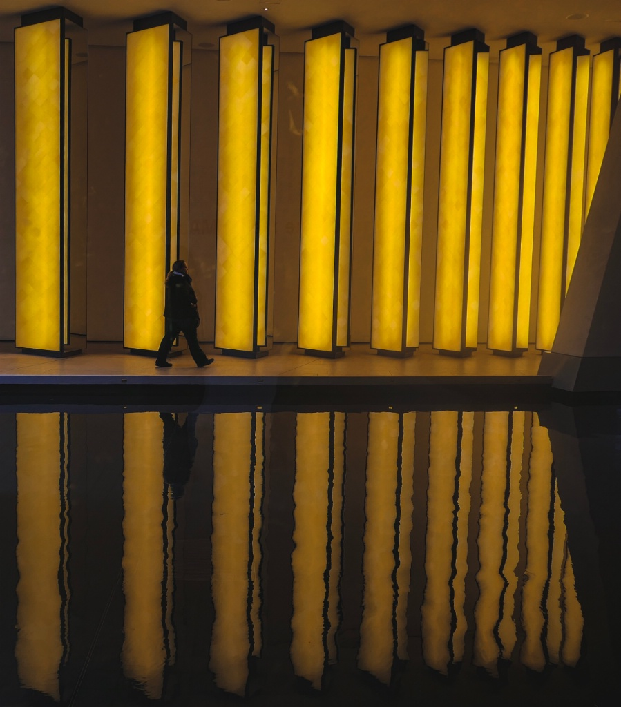 Walking in MOMA, Paris