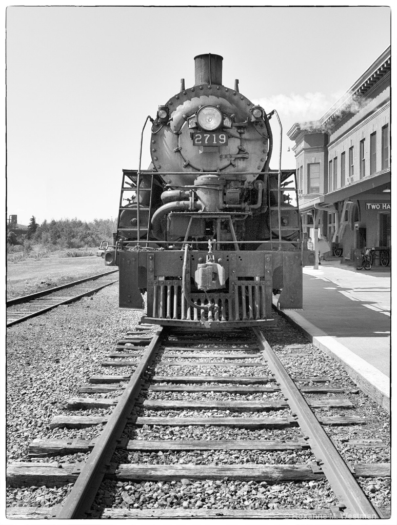 Steam Locomotive in Portrait - ID: 15493028 © Roxanne M. Westman