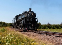 Steam Locomotive Duluth to Two Harbor