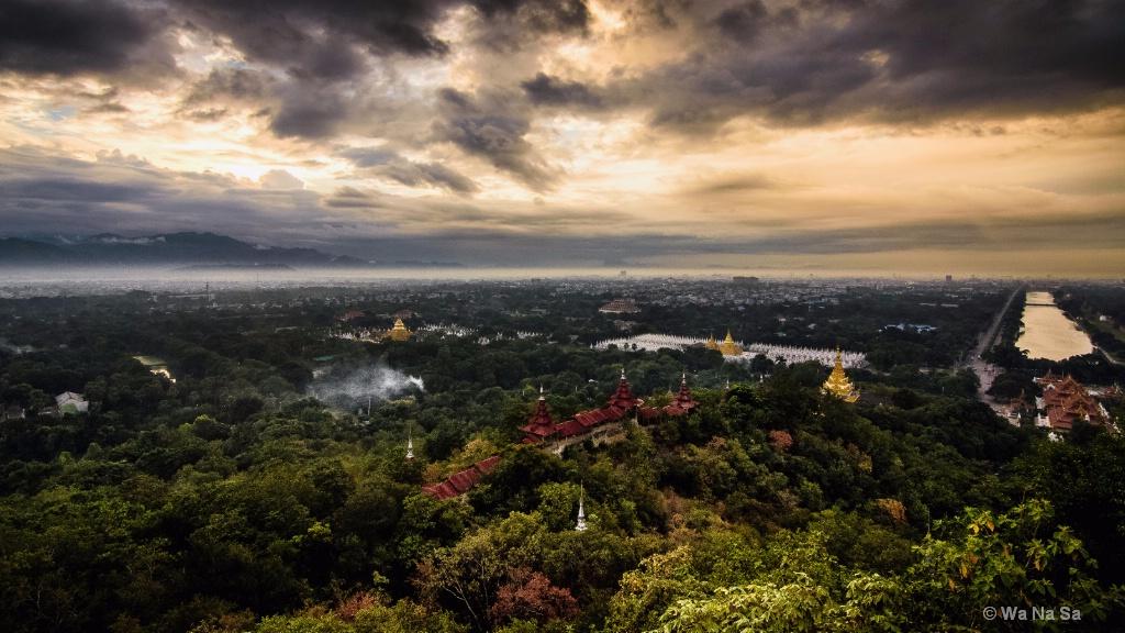 Cityscape of Mandalay