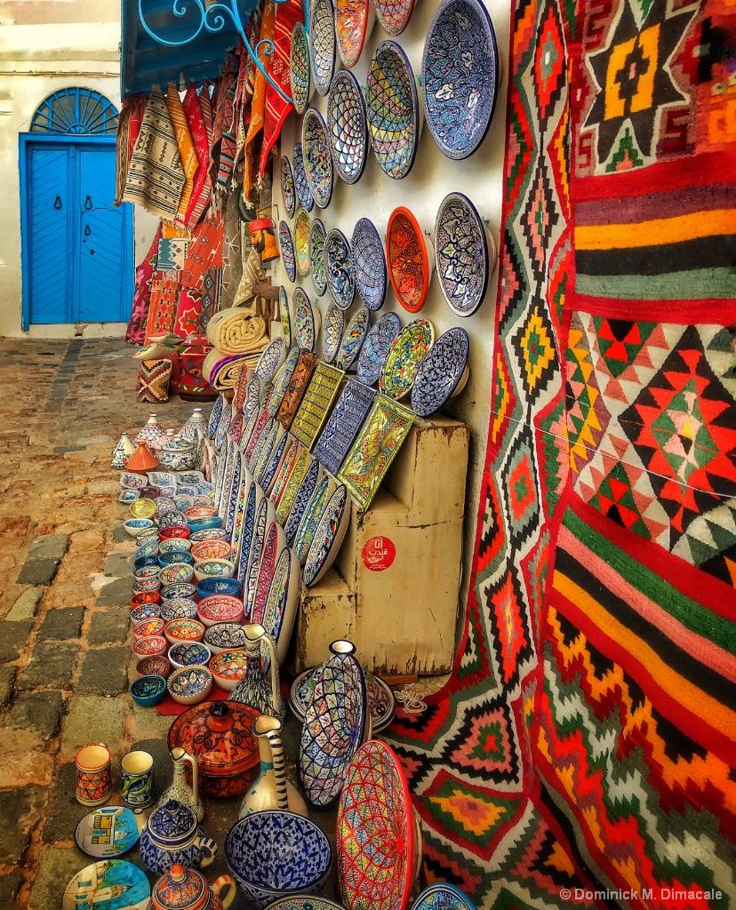 ~ ~  A TUNISIAN PATIO ~ ~