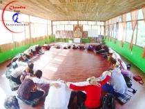 Hatha yoga teacher training Rishikesh.