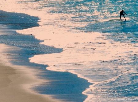 Blue Beach..