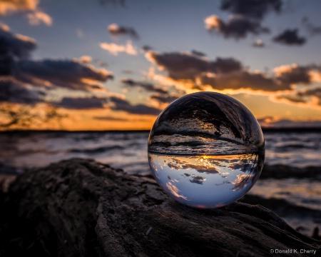 Sunset Crystal Ball