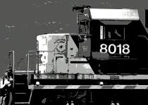 Engine No. 8018