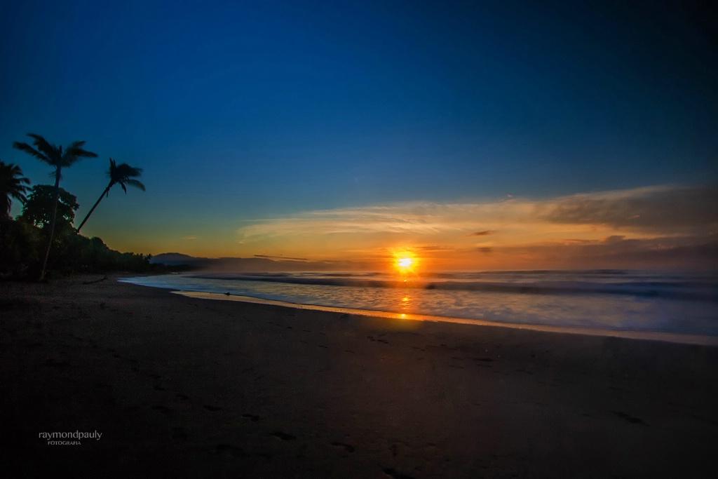 Daybreak in Esterillos Beach