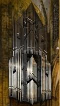 Hanging Pipe Organ