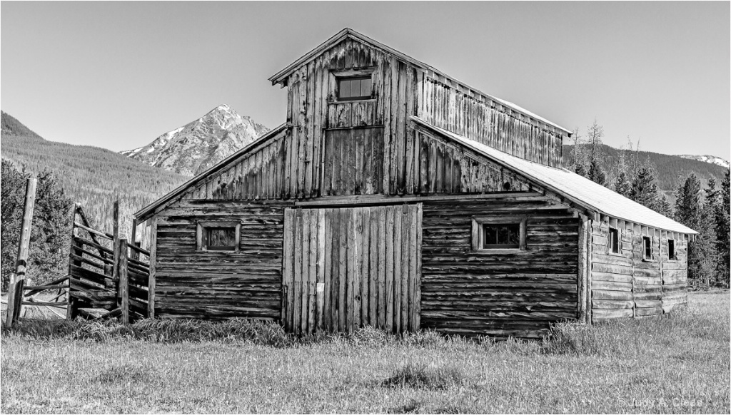 The Barn - ID: 15504075 © Judy A. Clees