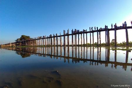 The Longest Wooden Bridge in Asia