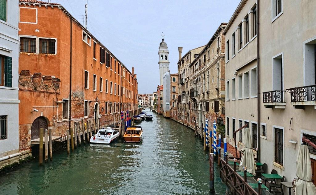 """A Side """"Street"""" In Venice"""
