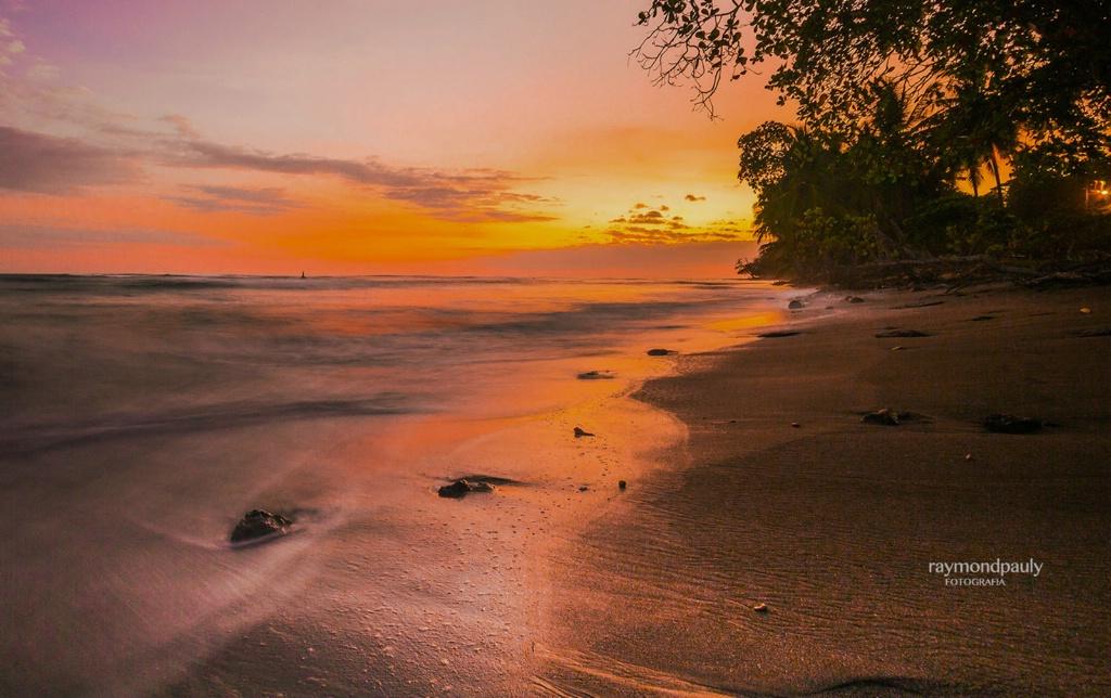 Esterillos Oeste - The Beach at Sunset