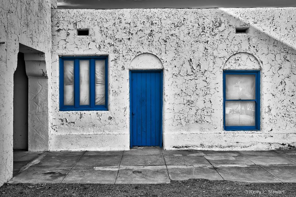 Amargosa Hotel Blues No. 2 - ID: 15507187 © Kerry L. Stewart