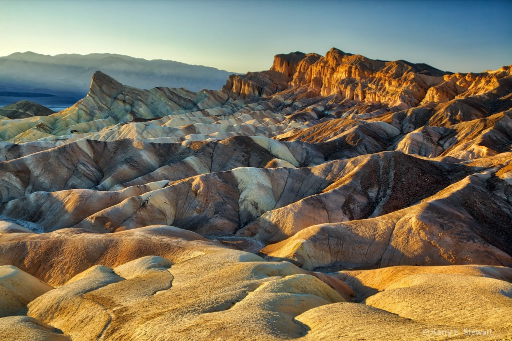 Zabriskie Point No. 1 - ID: 15507219 © Kerry L. Stewart