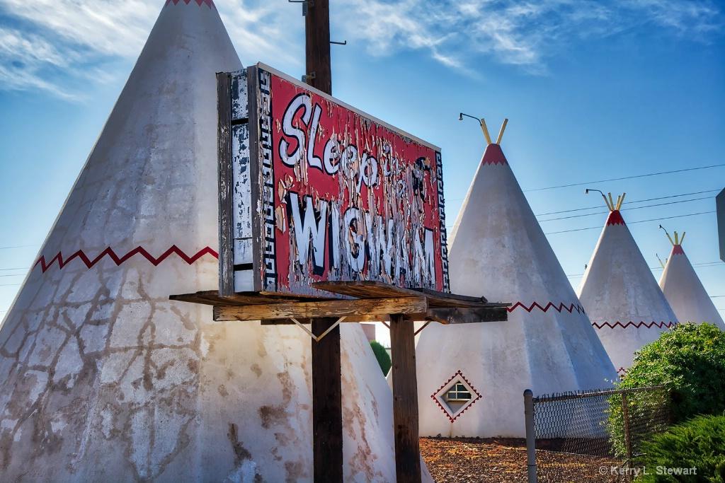 Wigwam Motel - ID: 15508224 © Kerry L. Stewart