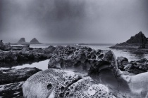 Some strange rock formations on the Oregon coast