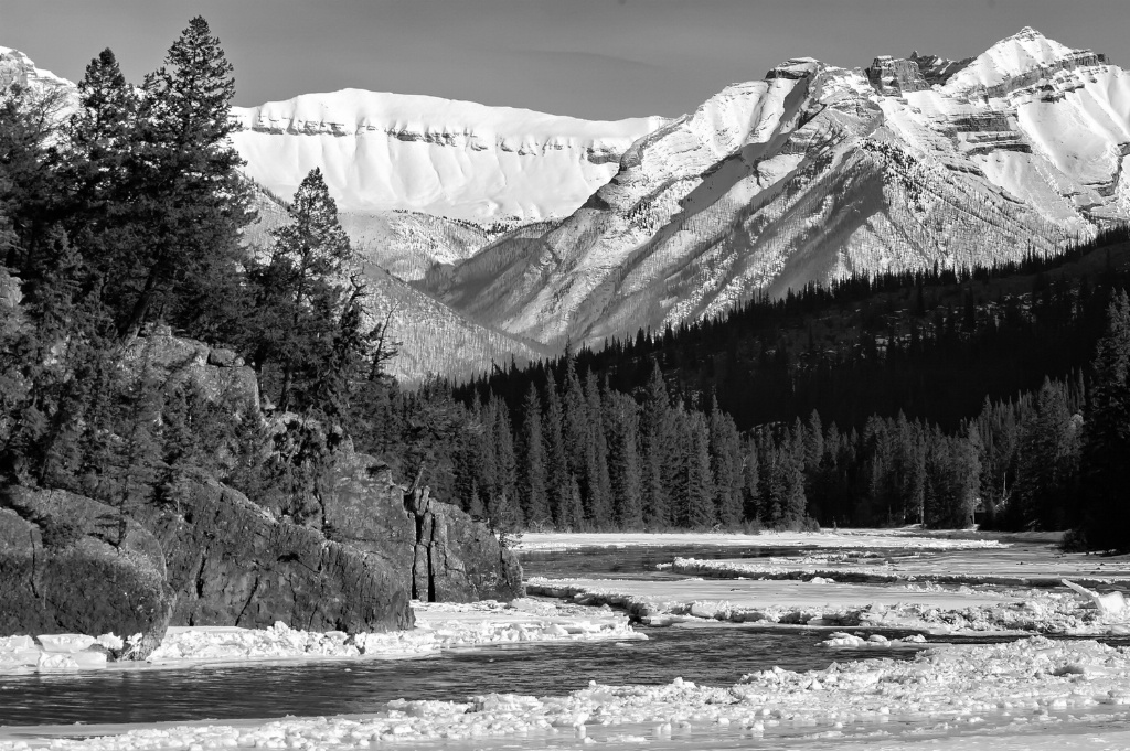 The Bow River, Banff National Park