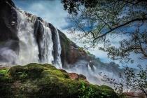 The Splashing Waterfalls of Athirappally