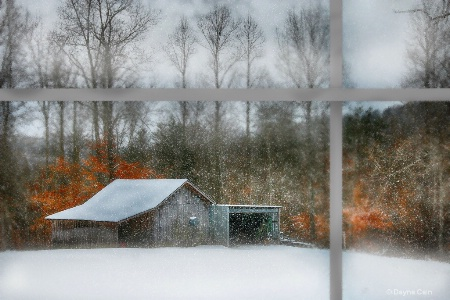 Watching Winter Thru The Window