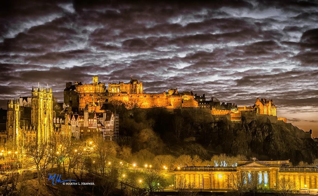 Ancient Skyline - Edinburgh, Scotland - ID: 15513622 © Martin L. Heavner