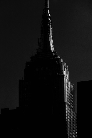 Empire State Buiding at dusk