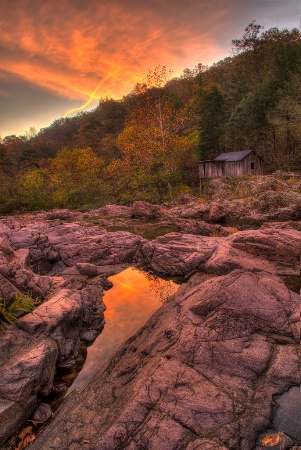 Klepsig Mill Sunrise