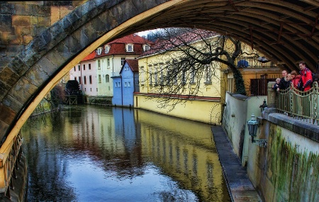 A Canal in Prague