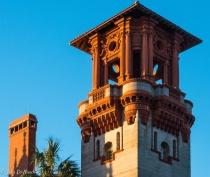 Detail, City Hall Tower, St. Augustine, FL
