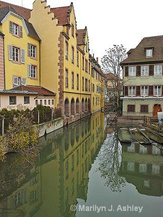 Colmar, France, Reflections - ID: 15516303 © Marilyn J. Ashley