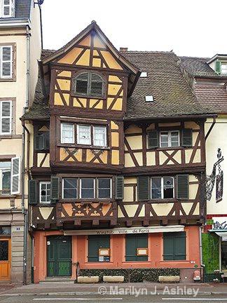Crooked Bldg., Colmar, France - ID: 15516304 © Marilyn J. Ashley