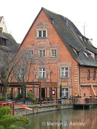 Decorated Building in Colmar, France - ID: 15516305 © Marilyn J. Ashley