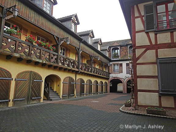 Street in Colmar, France - ID: 15516306 © Marilyn J. Ashley