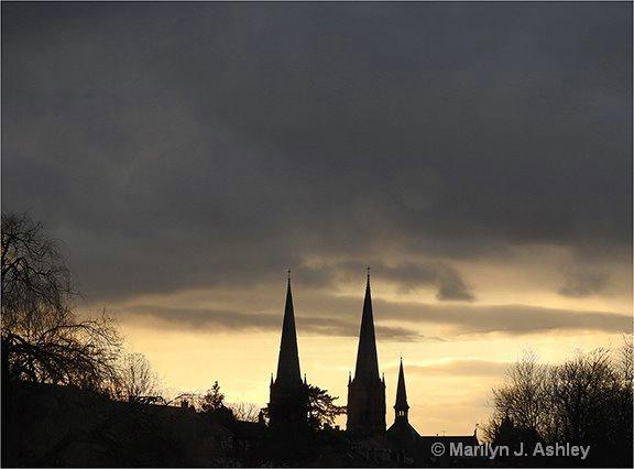 Sunset on Colmar, France - ID: 15516307 © Marilyn J. Ashley