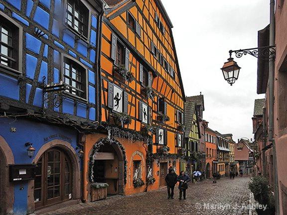 13th Century Village of Riquewihr, France - ID: 15516310 © Marilyn J. Ashley