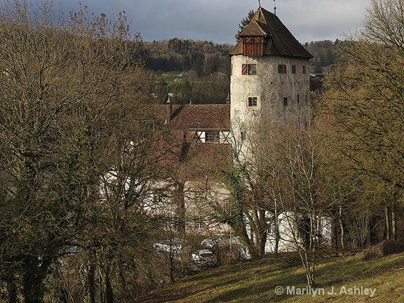 13th Century Rotteln Castle, Rhine River, Germany - ID: 15516341 © Marilyn J. Ashley