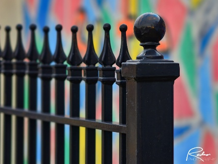 Fence and Mural