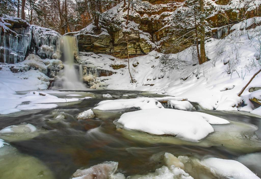 Ricketts Glen Winter Wonderland