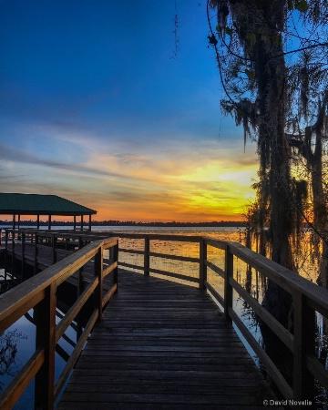 Waters Edge Sunset